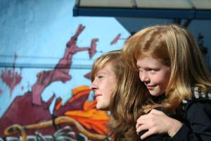 Fotoshoot volwassenen en jeugd op lokatie
